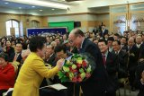 Формальное вступление в должность нового руководителя корейской Церкви