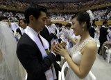 Церковь Объединения провела церемонию массового бракосочетания