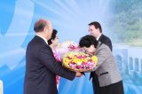 Церемония открытия океанического Дворца мира в Корее