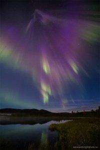 Притягательное северное сияние 3 сентября