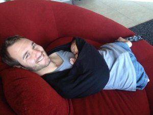 Ник Вуйчич стал отцом