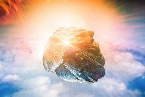 Метеорит над Уралом