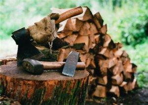 Как я вместе с Господом дрова колол.