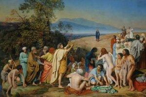 Явление Мессии. Самой известной картине Александра Иванова – 160 лет