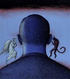 Откуда появляются добрые и злые желания людей?