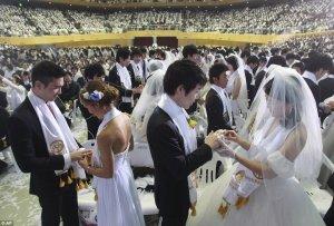 Массовая свадьба последователей Церкви Объединения прошла в Капенге