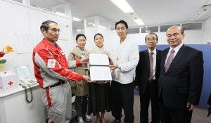 Преподобный Мун пожертвовал 1,7 млн. долларов на восстановление Японии