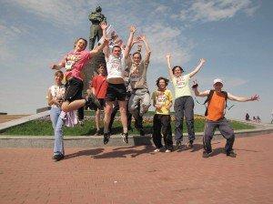 """Час бега"" регулярно проводится в Нижнем Новгороде"