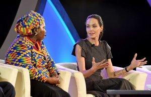 Анджелина Джоли призвала правительства стран Африки бороться с насилием над женщинами
