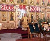 Делегация РПЦ приняла участие в торжествах по случаю пятилетия освящения Троицкого храма в Пхеньяне