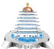 Эскиз проекта Храма Чхонбоккун